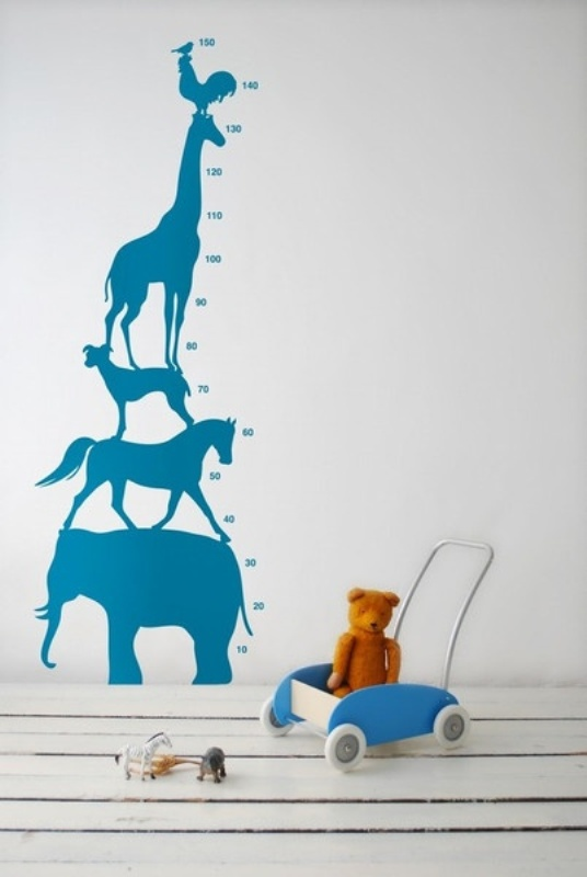 New Thus wall growth charts can be also cool wall decor for your kids room
