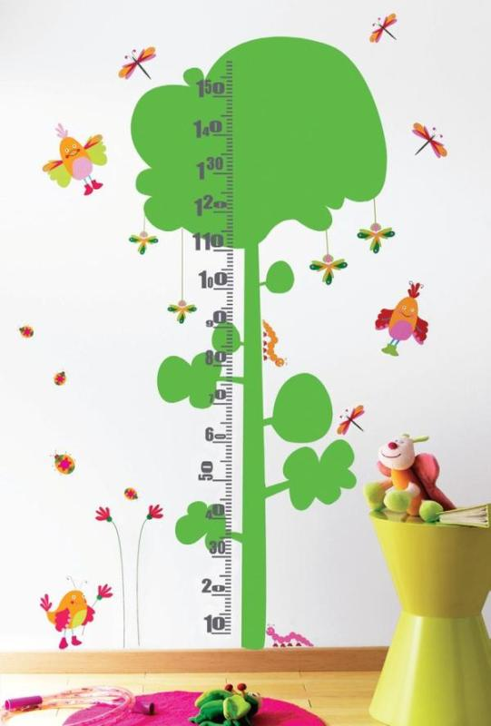 Ideal Thus wall growth charts can be also cool wall decor for your kids room