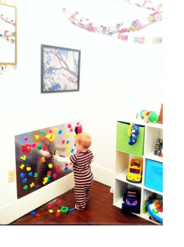 Fresh 10 Cool Ideas To Use Magnet Boards In A Kids Room   Kidsomania TU95