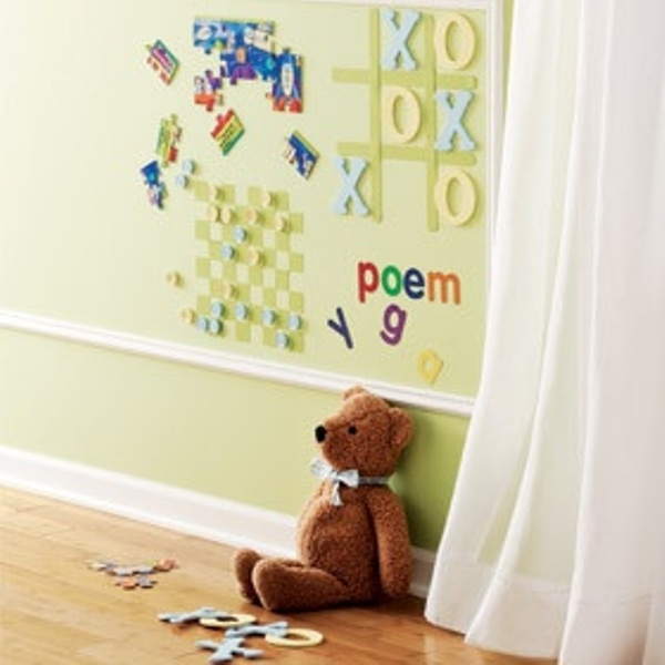 10 Cool Ideas To Use Magnet Boards In A Kids Room | Kidsomania