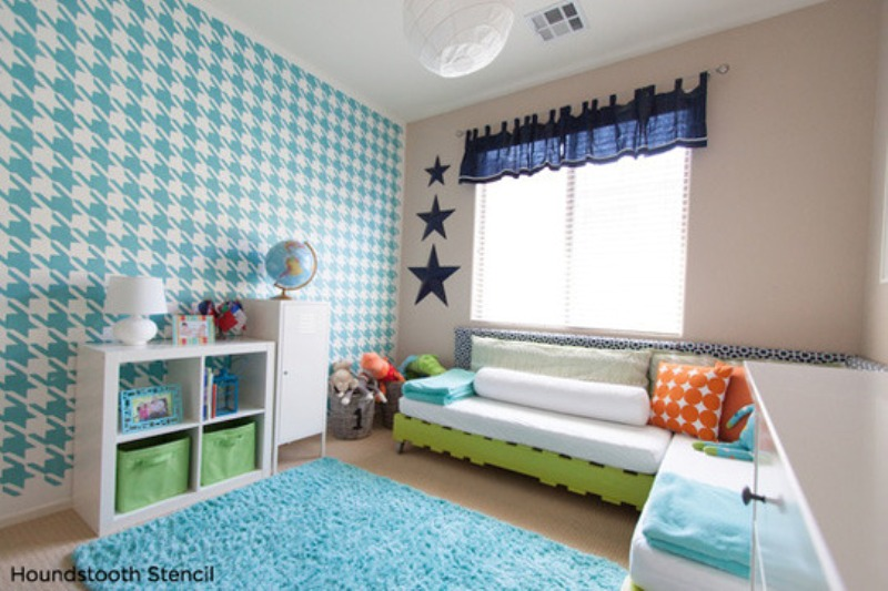 10 inspirational ideas to make an accent in a kids room