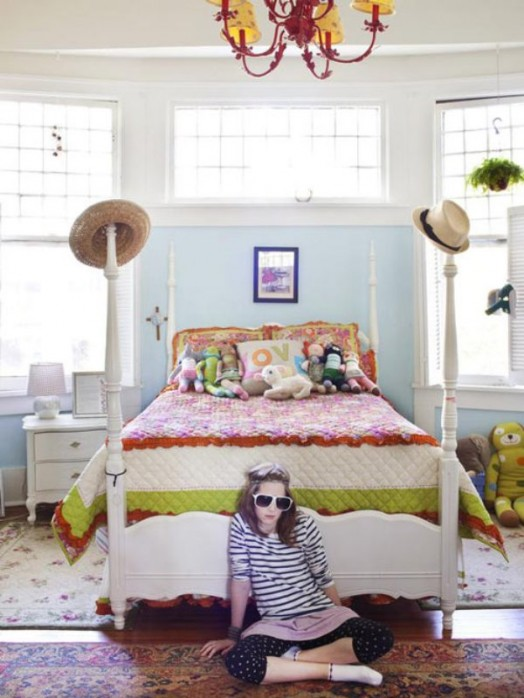 10 Nice Design Ideas For A Girl's Room   Kidsomania on Room Decor For Girl  id=18731