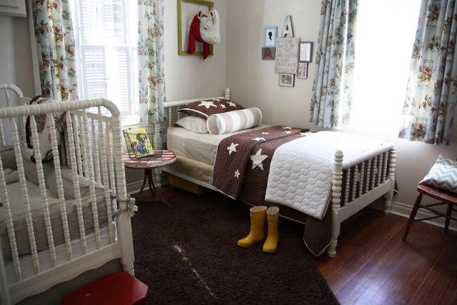 5 Cool Kids Bedrooms With A Toddler Bed And A Crib ...