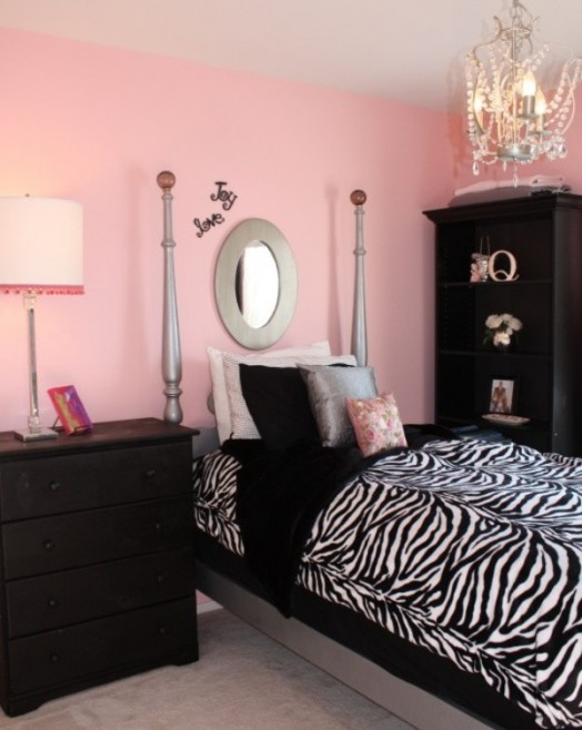 black teen girls bedroom