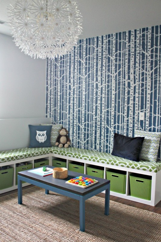 12 Nice Ideas To Use Underseat Storage In Kids' Room ...