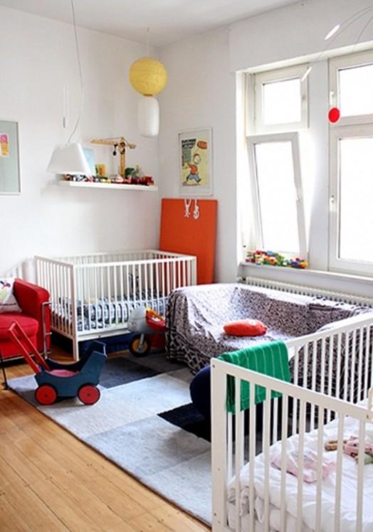 12 Delightful Nursery Design Ideas For Multiples Kidsomania