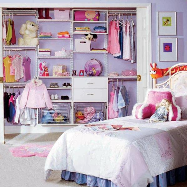 10 modern kids closets organized to put a room in order for Closet para dormitorios