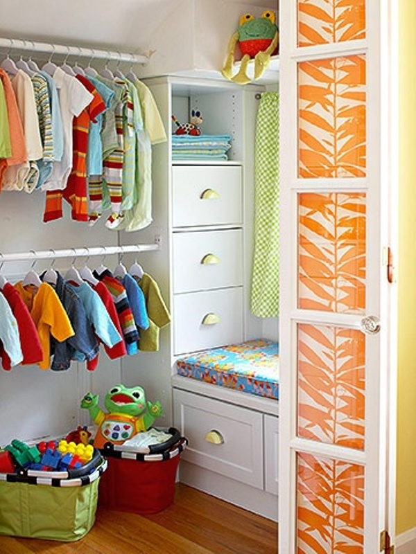 10 Modern Kids' Closets Organized To Put A Room In Order ...