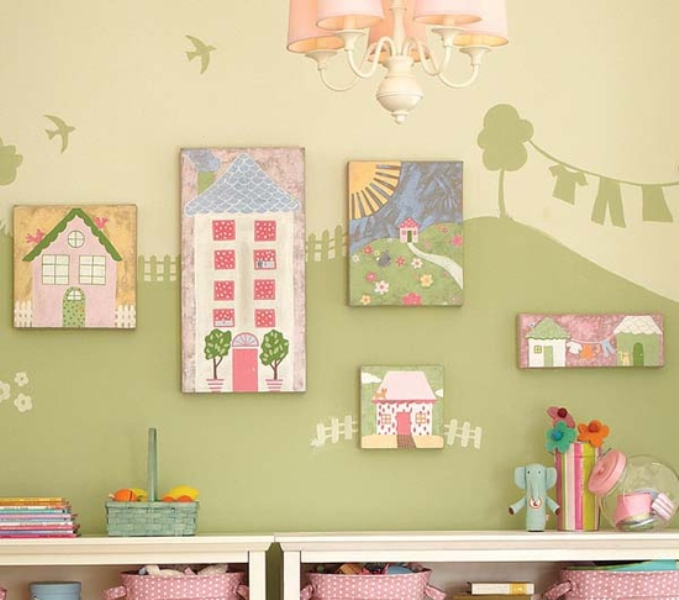 15 Cool Ideas To Use Your Children Artworks In Your Decor   Kidsomania
