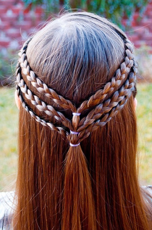 15 Easy Halloween Hairstyles For Kids | Kidsomania