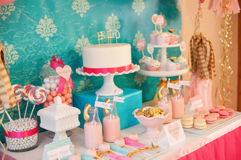 17 best birthday party ideas for girls kidsomania for 18 party decoration ideas
