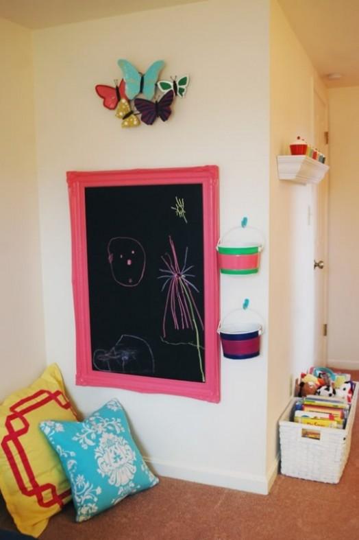 Diy Chalkboard Wall Kids