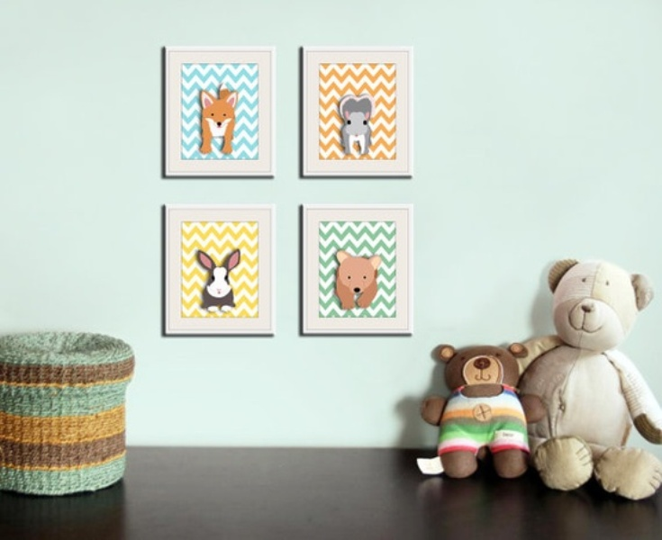 20 animal prints ideas for your kids room decor kidsomania - Kids Animal Prints