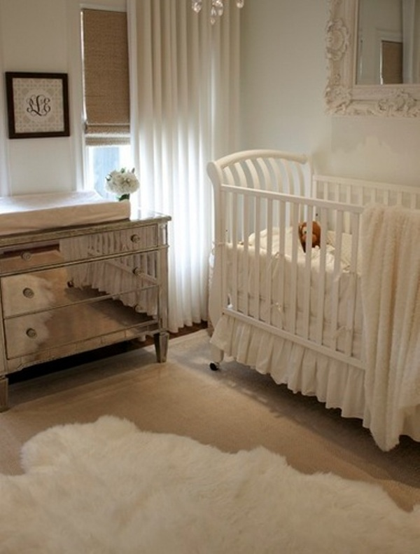 18 Neutral Vintage Baby Nursery Ideas, Neutral Nursery