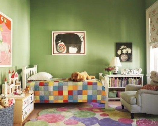 Farrow And Ball Kinderzimmer   20 green kids rooms to inspire 15 524x419