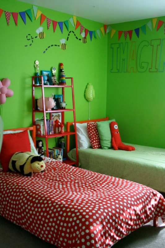 You won't regret it because the most attractive feature of green is that it  gives cheerfulness and emotional calmness at the same time.