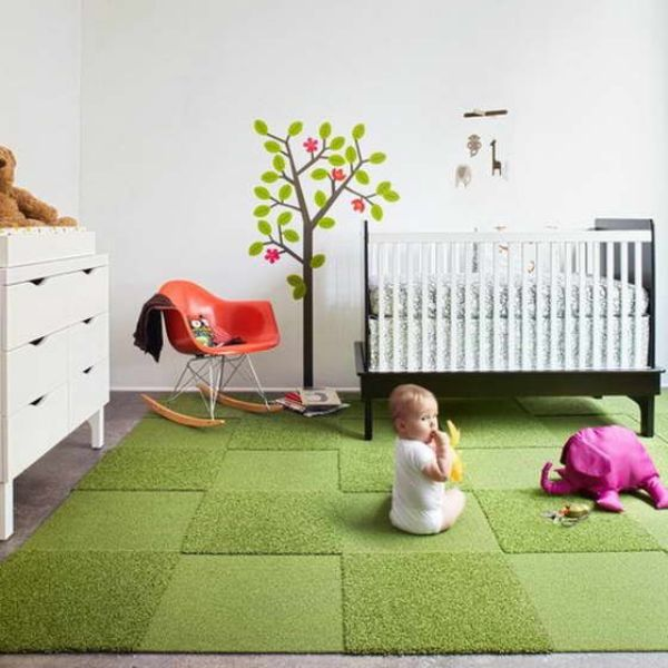 Floor To Be Your Accent In Kid S Room It Better Keep Everything Around Really Simple With Just A Few Supplementing Splashes Here And There