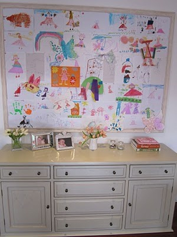 20 Interesting Ideas To Display Kids Artwork Kidsomania