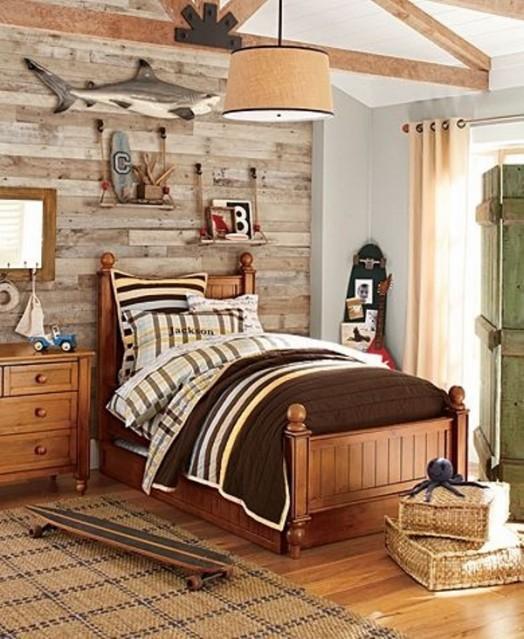 23 Creative And Cozy Rustic Kids Bedrooms | Kidsomania on Cozy Teenage Room Decor  id=91028