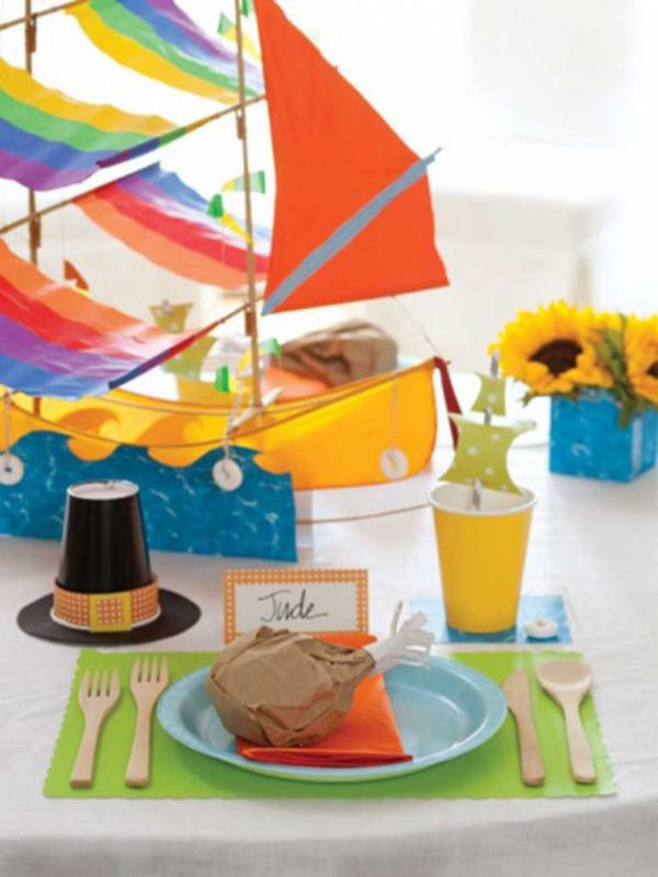 23 Inspiring Thanksgiving Kids' Table Settings