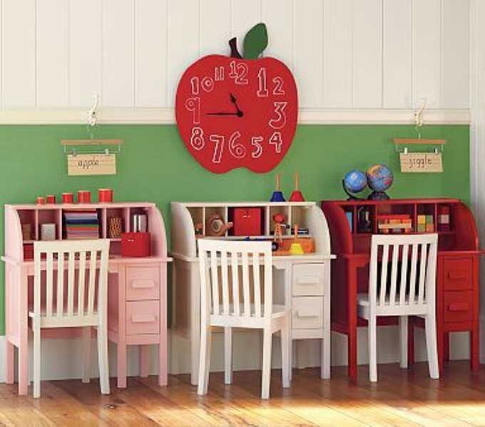 Homeschool Room Ideas Small Spaces: 25 Ideas To Create Practical Desk Spaces For Kids