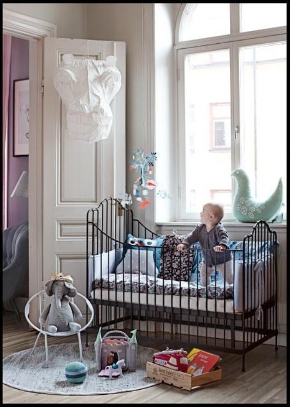 25 Iron Cribs Ideas For Your Kid's Nursery  Kidsomania