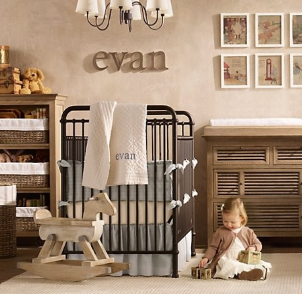 25 Iron Cribs Ideas For Your Kid S Nursery Kidsomania
