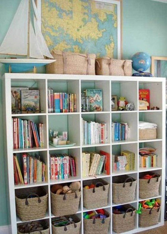 25 open storage ideas for kids stuff kidsomania for Box bimbi ikea
