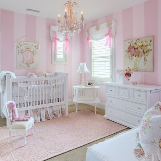 25 Awesome Shared Bedroom Ideas For Kids: 25 Cool Pink Children Bedroom Design Ideas