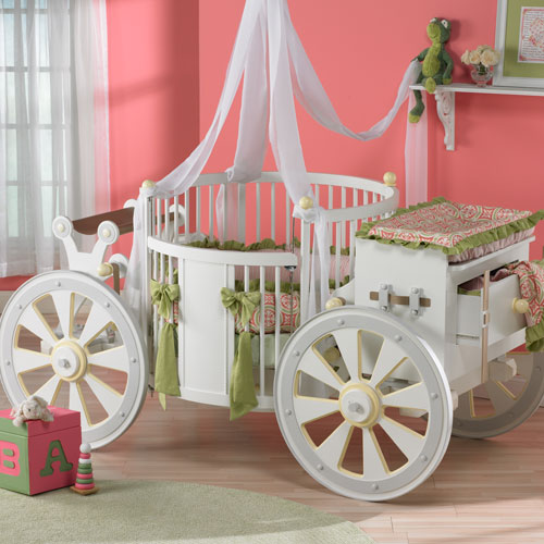 3 Charming Carriage Cribs for Baby Girls from PoshTots ...