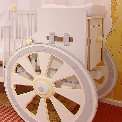 3 Charming Carriage Cribs For Baby Girls From Poshtots
