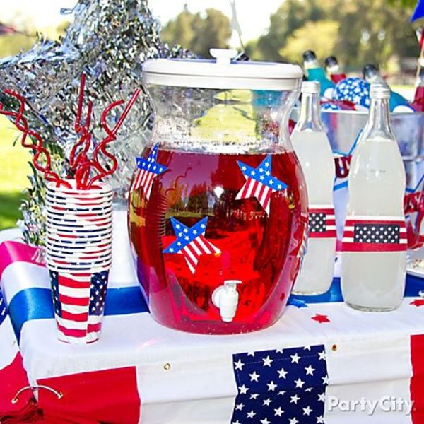 30 Awesome 4th July Themed Kids Party Ideas