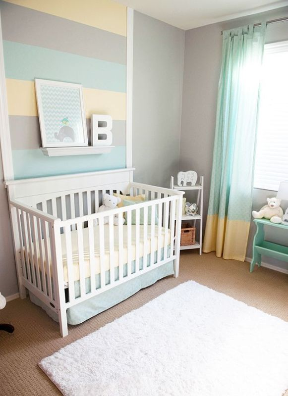 Baby Room Drawing: 30 Awesome Grey Baby Nursery Decor Ideas