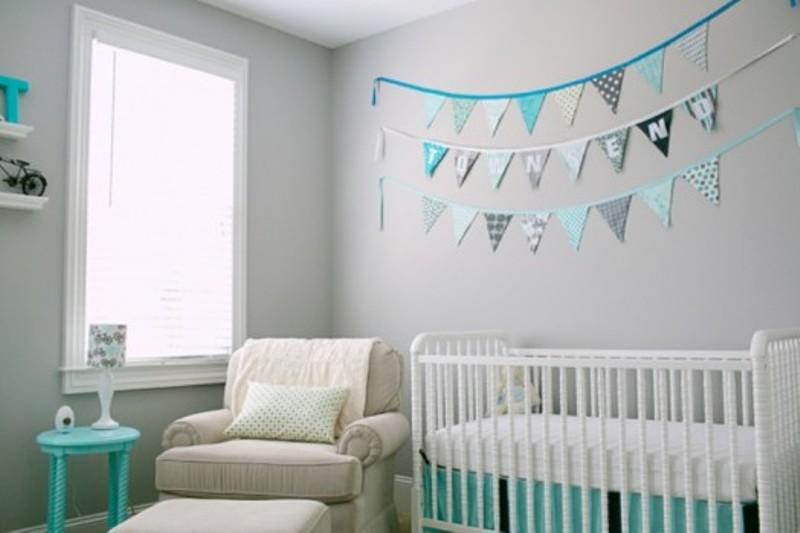30 awesome grey baby nursery decor ideas kidsomania - Colores para habitaciones de bebe ...