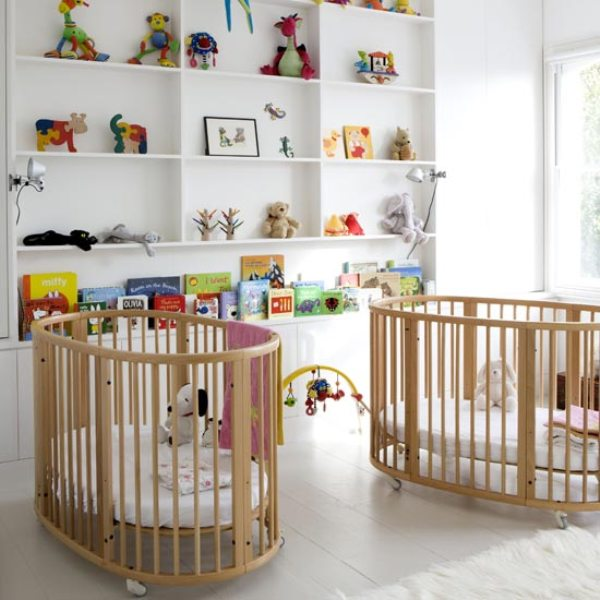 30 Cool Round Baby Crib Designs  Kidsomania