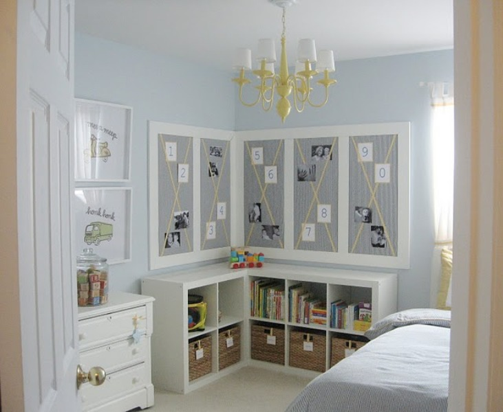 Genius Idea Ikea Expedit Shelves With Baskets For Storage: 30 Cubby Storage Ideas For Your Kids Room