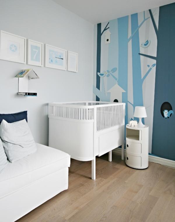 Unisex nursery design : Gender-neutral baby nursery ideas