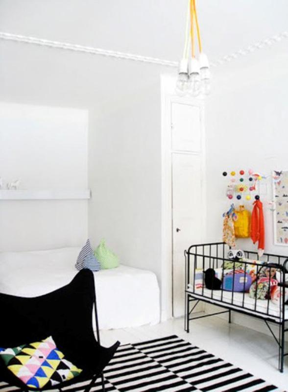 30 gender neutral nursery design ideas kidsomania - Habitacion para tres ninos ...