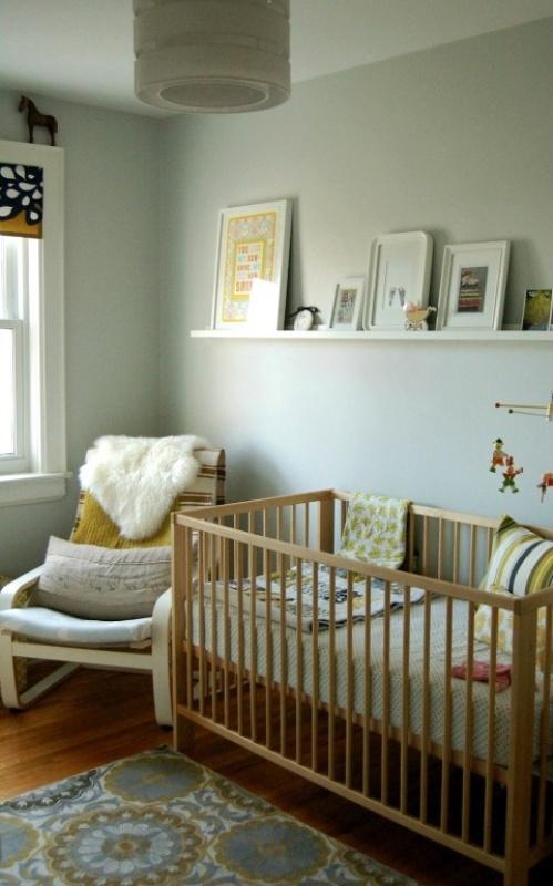 30 gender neutral nursery design ideas kidsomania for Gender neutral bedroom ideas
