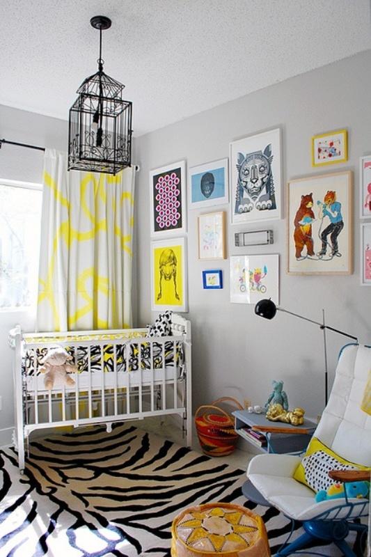 Netmodern Nursery Lighting : 30 Gender Neutral Nursery Design Ideas  Kidsomania