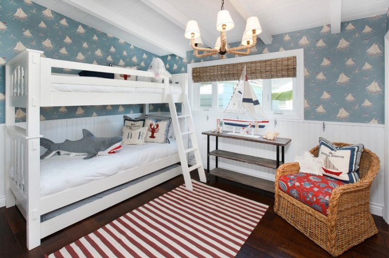Vintage  Nautical Room Design Ideas For Your Kid