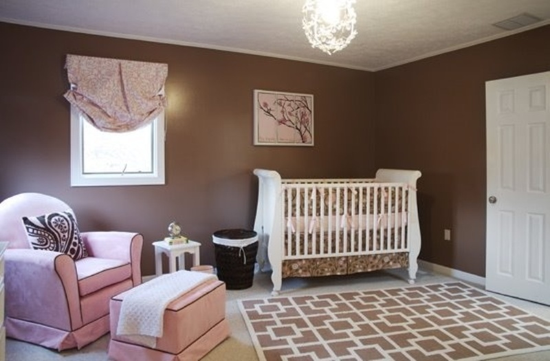 31 chocolate brown kids rooms design ideas to inspire - Chocolate brown room designs ...