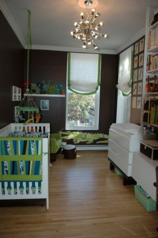 31 Chocolate Brown Kids Rooms Design Ideas To Inspire