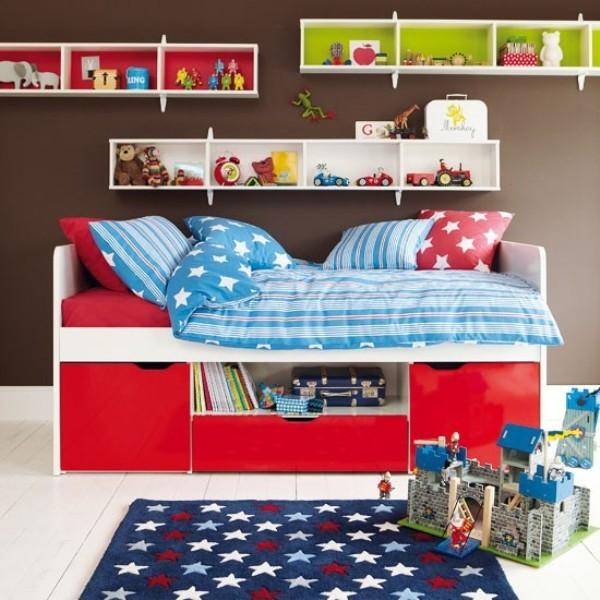 Bedroom Decor Brown Childrens Bedroom Ceiling Lights Bedroom Bench Target Unique Bedroom Art: 31 Chocolate Brown Kids Rooms Design Ideas To Inspire