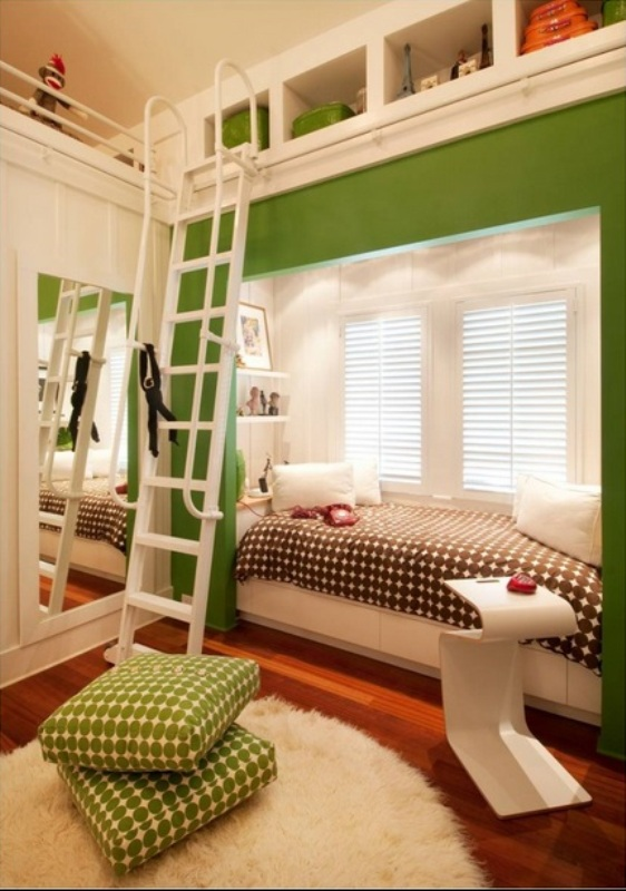 Kids Room Designs For Small Spaces: 33 Space-Saving Built-In Kids Beds Ideas