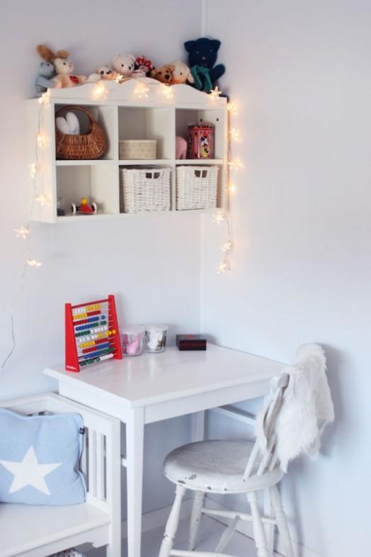 Small Study Room: 35 Kids Desks Spaces Inspirational Ideas