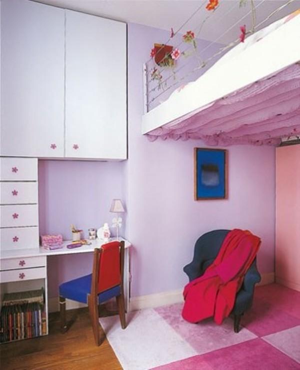 Loft Bedrooms For Kids Hunted Interior Bed Designs Young: 35 Cool Kids Loft Beds