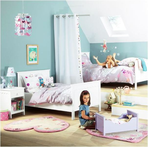 35 shared kids rooms inspiring ideas kidsomania for Sharing an apartment with a roommate