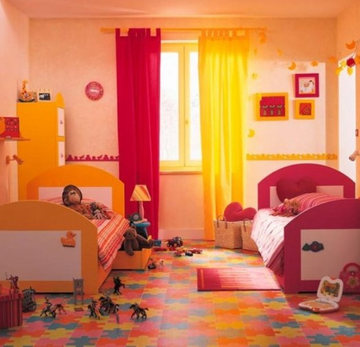 Girls Bedroom Ideas For Every Child: 35 Shared Kids Rooms Inspiring Ideas