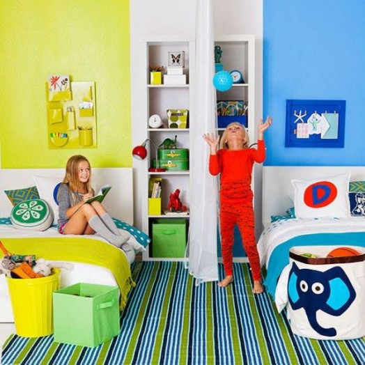 4 Clever Tips And 29 Cool Ideas To Design A Shared Room